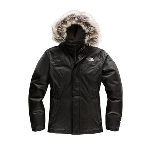 North Face Girls Greenland Down Parka Coat M 10-12